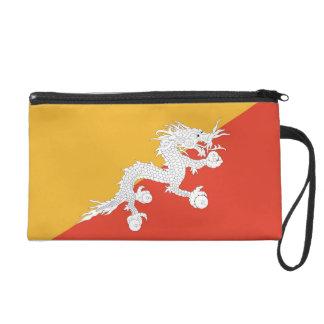 ブータンの旗が付いているBagettesのバッグ リストレット