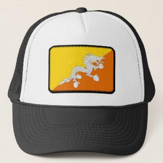 ブータンの旗によって刺繍される効果の帽子 キャップ