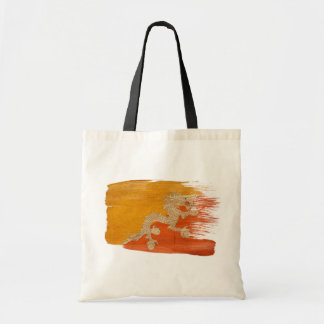 ブータンの旗のキャンバスのバッグ トートバッグ