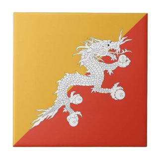ブータンの旗のセラミックタイル タイル