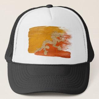 ブータンの旗のトラック運転手の帽子 キャップ