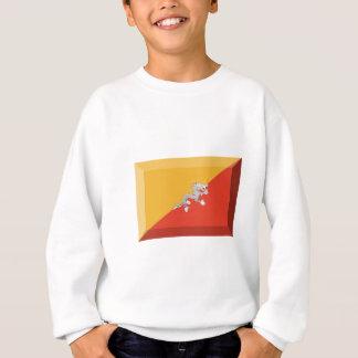 ブータンの旗の宝石 スウェットシャツ