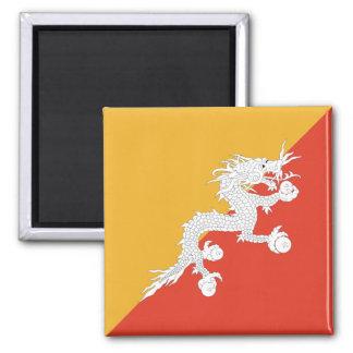 ブータンの旗の磁石 マグネット