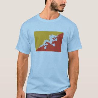 ブータンの旗インターナショナル Tシャツ