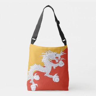 ブータンの旗 クロスボディバッグ