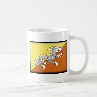 ブータンの旗 コーヒーマグカップ