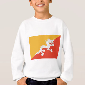 ブータンの旗 スウェットシャツ