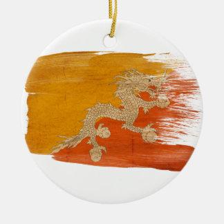 ブータンの旗 セラミックオーナメント