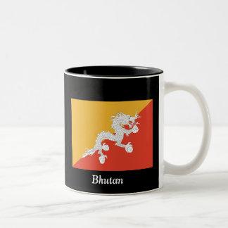ブータンの旗 ツートーンマグカップ