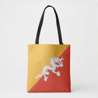 ブータンの旗 トートバッグ