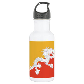 ブータンの旗、ドラゴンの火の王国 ウォーターボトル