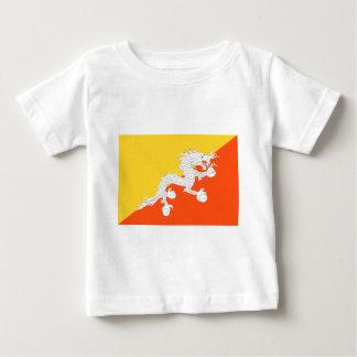 ブータンの旗 ベビーTシャツ