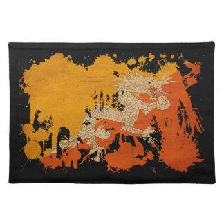 ブータンの旗 ランチョンマット
