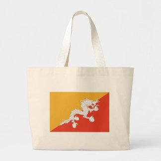 ブータンの旗 ラージトートバッグ