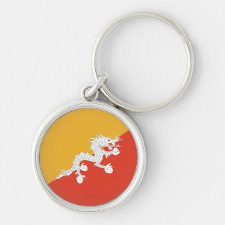 ブータンの旗Keychain キーホルダー