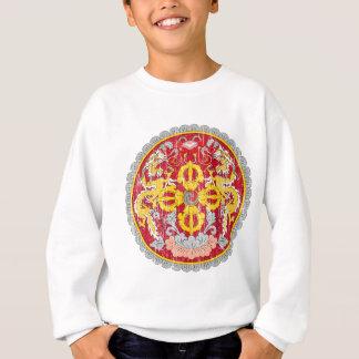 ブータンの紋章付き外衣 スウェットシャツ