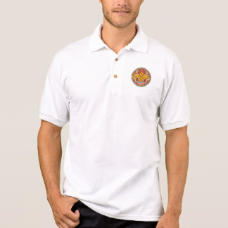 ブータンの紋章 ポロシャツ