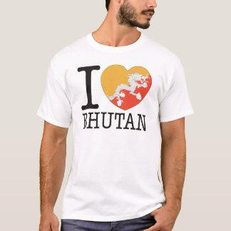 ブータン愛v2 tシャツ