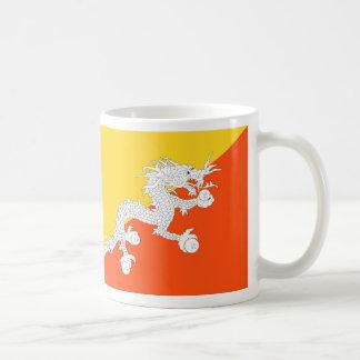 ブータン- ཧྥの་のརནの་のསの་のཀྱིの་のདརの་のཆ -の旗ཧྥの་のརནの་のསの་の コーヒーマグカップ