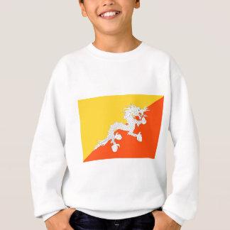 ブータン- ཧྥの་のརནの་のསの་のཀྱིの་のདརの་のཆ -の旗ཧྥの་のརནの་のསの་の スウェットシャツ