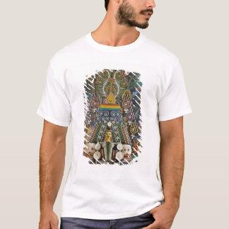 ブータン。 修道士がなす正式のケーキは2つを飾ります Tシャツ