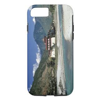 ブータン、Punaka。 Mo Chhuの川は流れます iPhone 8/7ケース