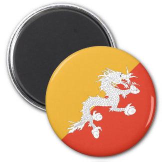 ブータンFisheyeの旗の磁石 マグネット