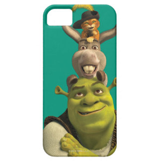 ブーツの小娘、ろばおよびShrek iPhone SE/5/5s ケース