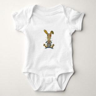 ブードゥーのウサギ ベビーボディスーツ