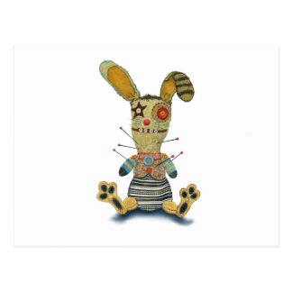 ブードゥーのウサギ ポストカード