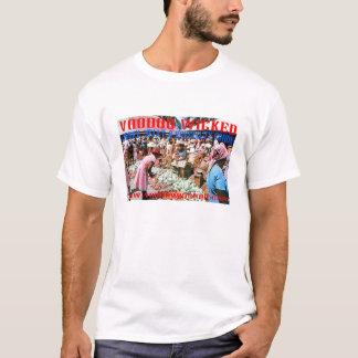 ブードゥーのグルメのカリブのな市場キングストン Tシャツ