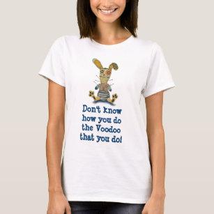 ブードゥーのバニーのTシャツ Tシャツ