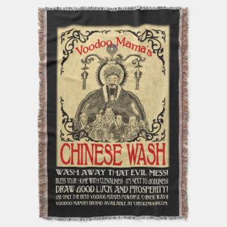 ブードゥーのママChinese Washのブランケット スローブランケット