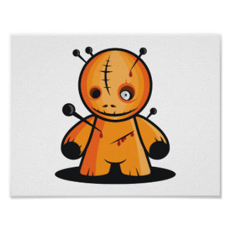 ブードゥーの人形ポスター ポスター