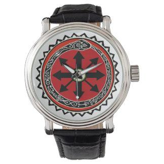 ブードゥーの無秩序の腕時計 腕時計