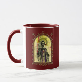ブードゥーの青の司教 マグカップ