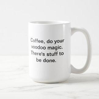ブードゥーの魔法 コーヒーマグカップ