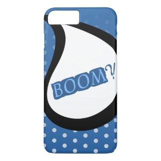 ブームのAppleの青いiPhone 7 Samsungは裏表紙を包装します iPhone 8 Plus/7 Plusケース
