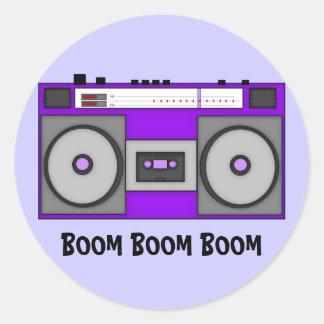ブームブームBoombox ラウンドシール