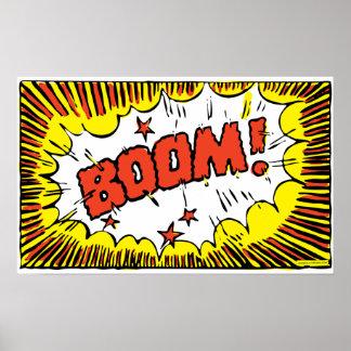 ブーム! II (より小さいサイズ) ポスター