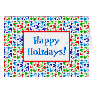 ブーメランの幸せな休日 カード