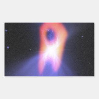 ブーメランの星雲 長方形シール