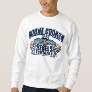 ブーン郡はフットボール反逆します スウェットシャツ