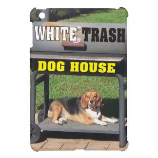 プアホワイトの犬小屋のグリル iPad MINIケース