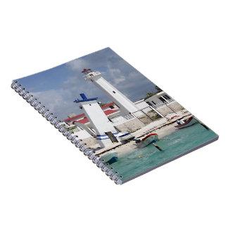 プエルトモレロス州の灯台 ノートブック