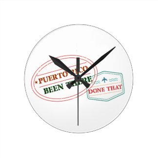 プエルトリコそこにそれされる ラウンド壁時計