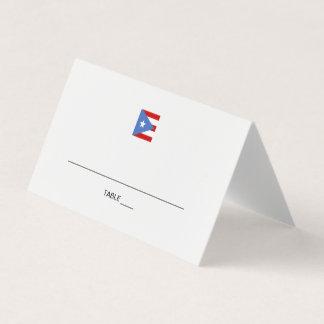 プエルトリコのイベント プレイスカード
