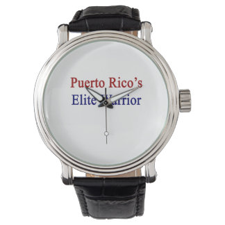 プエルトリコのエリートの戦士 リストウォッチ