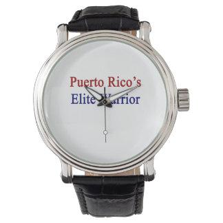 プエルトリコのエリートの戦士 腕時計