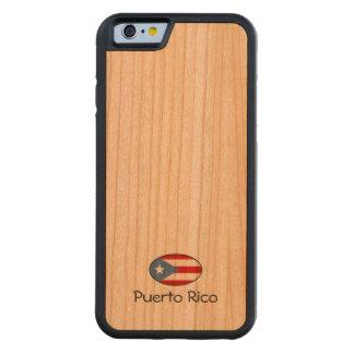 プエルトリコのカスタム CarvedチェリーiPhone 6バンパーケース